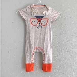Cat & Jack Fox Outfit - newborn